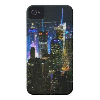 Wolkenkratzer New- Yorknachtmanhattans Vereinigte Case-Mate iPhone 4 Hülle
