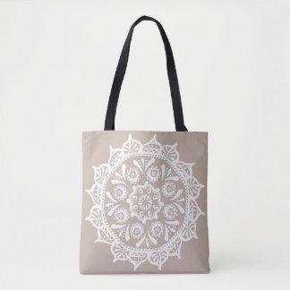 Wolle-Mandala Tasche