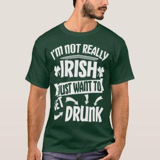 Wollen Sie einfach, um betrunken zu erhalten T-Shirt