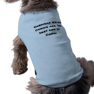 Wolljacken-Walisercorgi-Shirt Ärmelfreies Hunde-Shirt