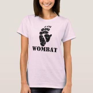 Wombat Abdruck T-Shirt