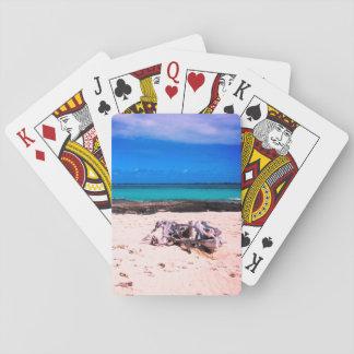 Wood&Rocks Strand Spielkarten