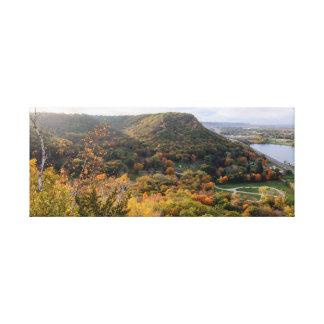 "Woodlawn übersehen Panorama 24.5x10 1,5"" Leinwanddruck"