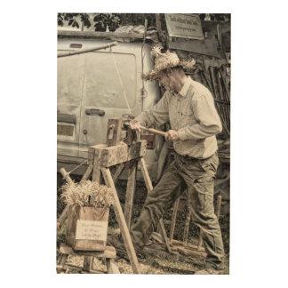 Woodworker Holzleinwände