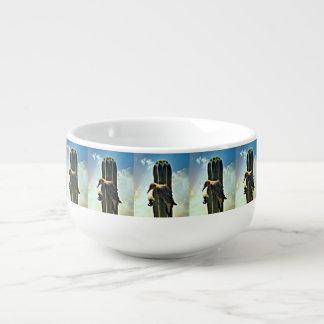 Woody auf Saguaro-Suppen-Tasse Große Suppentasse