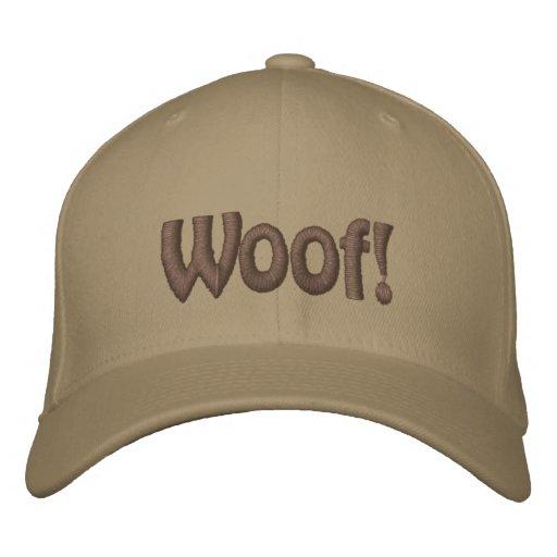 Woof ! Chapeau brodé
