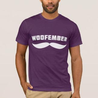 Woofember Logo-T-Stück (Aubergine) T-Shirt