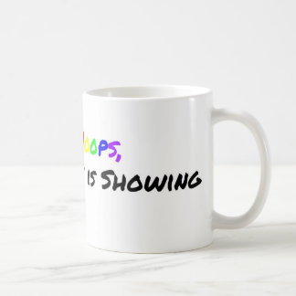 Woops, das mein Homosexuelles sich zeigt Kaffeetasse