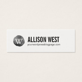 Wordpress Webseiten-Vernetzungs-Karte Mini Visitenkarte