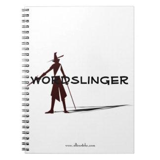 Wordslinger Notizbuch Notizblock