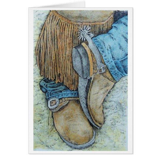 workin Stiefel Karte