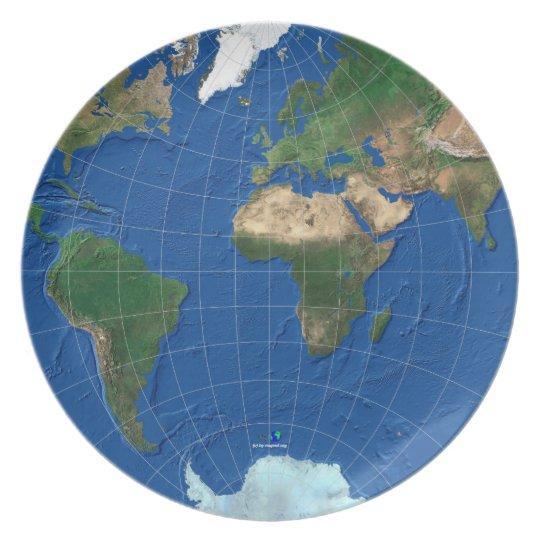 World Map Sphere 1: Europe Asia America Teller