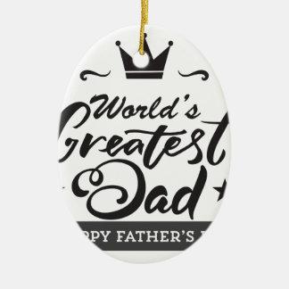 World's_Greatest_Dad Keramik Ornament