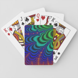Wormhole-Fraktal-Raum-Rohr Spielkarten