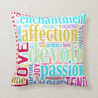 Wörter der Liebe #2 Kissen