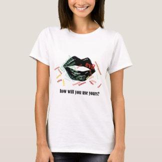 Wörter T-Shirt