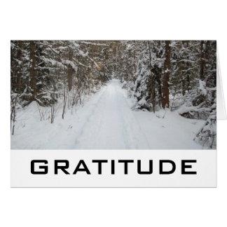 Wörter von Klugheit:  Dankbarkeits-Karten Karte