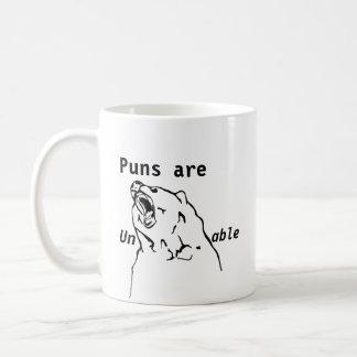 Wortspiele sind unerträglich kaffeetasse
