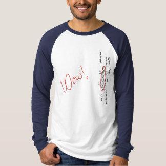 Wow-Signal SETI-Mitteilung T-Shirt