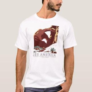 "WPA ""sehen Sie Amerika"" T - Shirt"