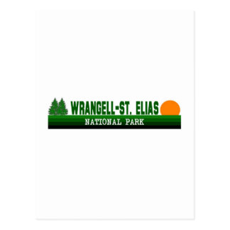 Wrangell-St. Nationalpark Elias Postkarte