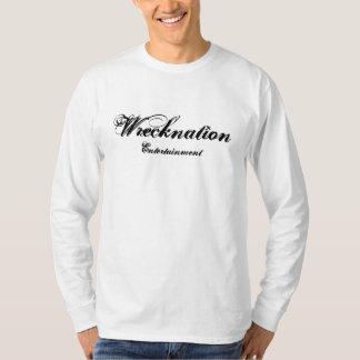 Wrecknation, divertissement t-shirt