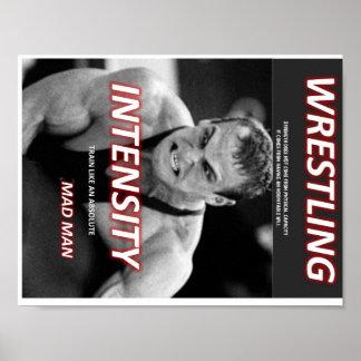 Wrestling - Irres Poster