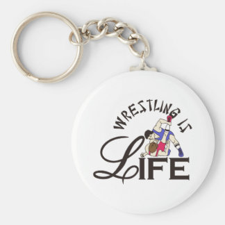 Wrestling ist Leben Schlüsselanhänger