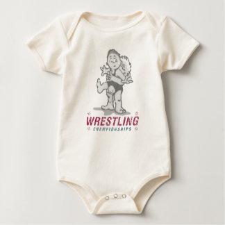 Wrestling-Meisterschaften Baby Strampler