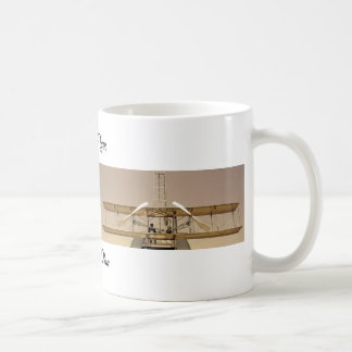 Wright-Flyer-Flugzeuge Kaffeetasse