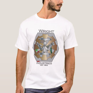Wright-Industrie-Personal-T-Stück T-Shirt