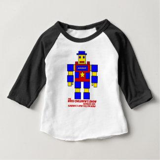 WRIUKids Roboter-Baby-T-Stück Baby T-shirt