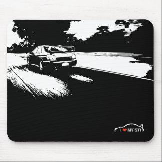 WRX WTI-Straßen-Kreuzfahrt Mousepads