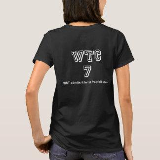 WTC7 fiel mit Fallgeschwindigkeit T-Shirt