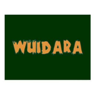 Wuidara Wilderer poacher Postkarte