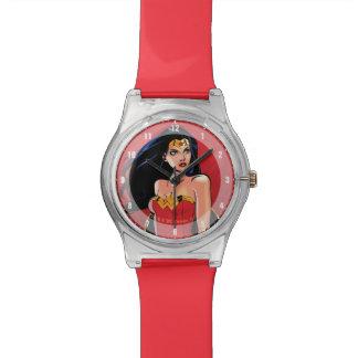 Wunder-Frau mit der Klinge - heftig Uhren