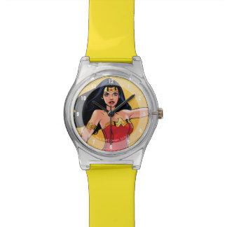 Wunder-Frau mit Lasso - Kampf für Gerechtigkeit Armbanduhr