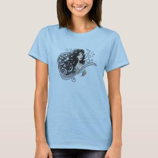 Wunder-Frau und Sterne T-Shirt