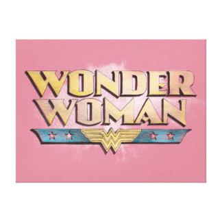 Wunder-Frauen-Bleistift-Logo Galerie Faltleinwand