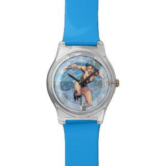 Wunder-Frauen-Dreiheits-Comic-Abdeckung #16 Armbanduhr