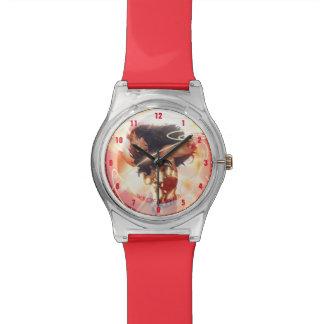 Wunder-Frauen-Enzyklopädien-Abdeckung Armbanduhr