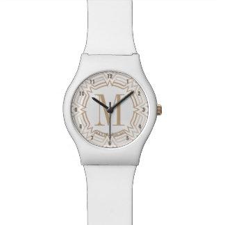 Wunder-Frauen-Grieche-Muster Uhren