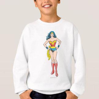 Wunder-Frauen-Hände auf Hüften Sweatshirt