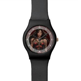 Wunder-Frauen-Kampf-Bereite Comic-Kunst Uhr