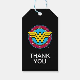 Wunder-Frauen-Kreis DC-Comic-  u. Stern-Logo Geschenkanhänger