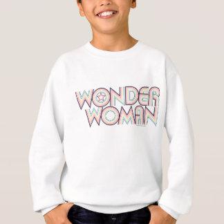 Wunder-Frauen-Regenbogen-Logo Sweatshirt