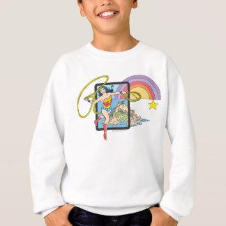 Wunder-Frauen-Regenbogen Sweatshirt
