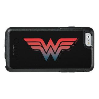 Wunder-Frauen-rotes blaues Steigungs-Logo OtterBox iPhone 6/6s Hülle