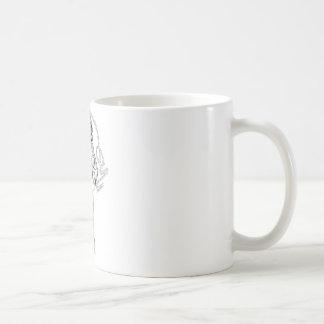 Wunder-Frauen-schwarzer u. weißer Kämpfer Kaffeetasse