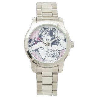 Wunder-Frauen-Stärke u. Power Armbanduhr